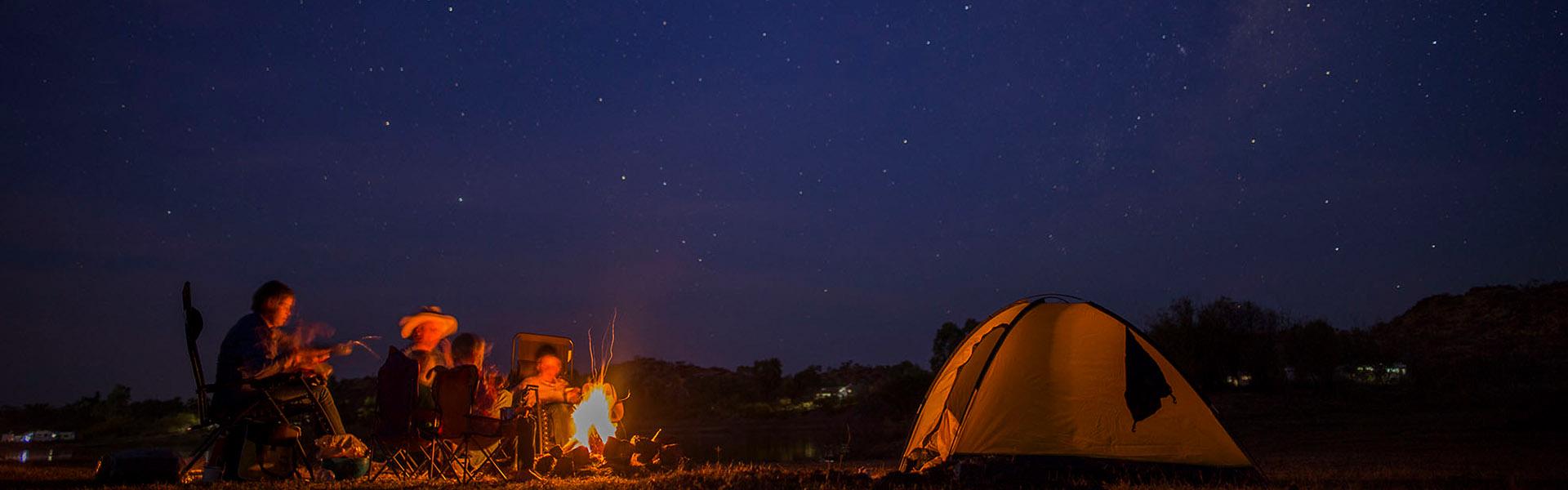 Corella Dam Night Camping Slider